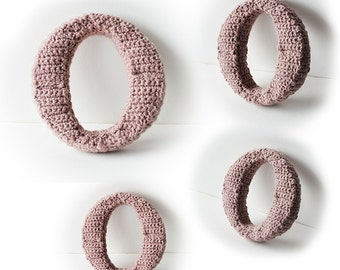 Free Crochet Pattern For The Letter O : Complete 3D Alphabet Crochet Pattern Letter Crochet Pattern