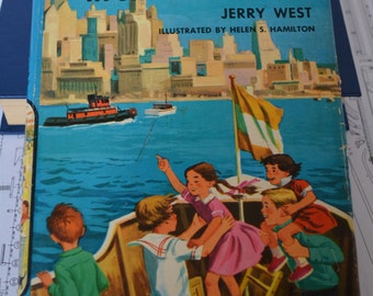 The Happy Hollisters and the Mystery in Skyscraper City (H-17) by Jerry West