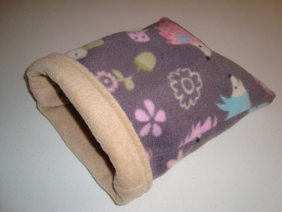 Sleeping Bag for hedgehogs guinea pigs rats by PocketfulOfPets
