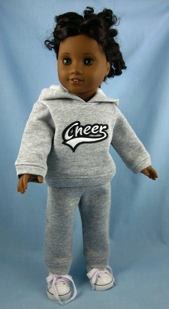 clearance american girl doll clothes sale sweatsuit in. Black Bedroom Furniture Sets. Home Design Ideas