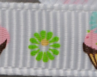 Cupcake Grosgrain - 3/8 inch wide - 100 Yards