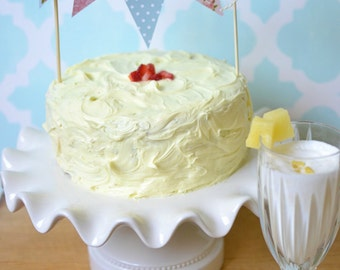 Shabby Chic Vintage Cake Cupcake Bunting
