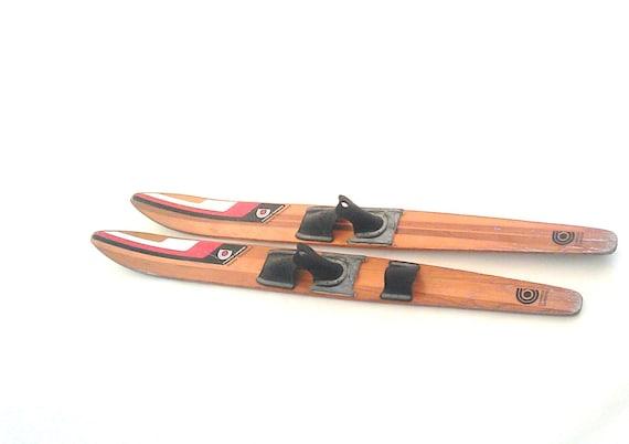 Cypress Gardens Skis, Vintage Wood Super Grooved 67 Waterskis