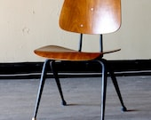 Vintage Eames Styled Molded Wood Chair