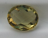 Unique 4.20 carat Checkerboard Faceted Citrine for Setting, Jewelry Making, Collectible
