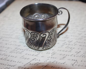 1892 Sterling Baby Cup