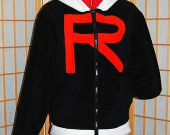 Pokemon - Team Rocket Hoodie jacket cosplay costume coat handmade
