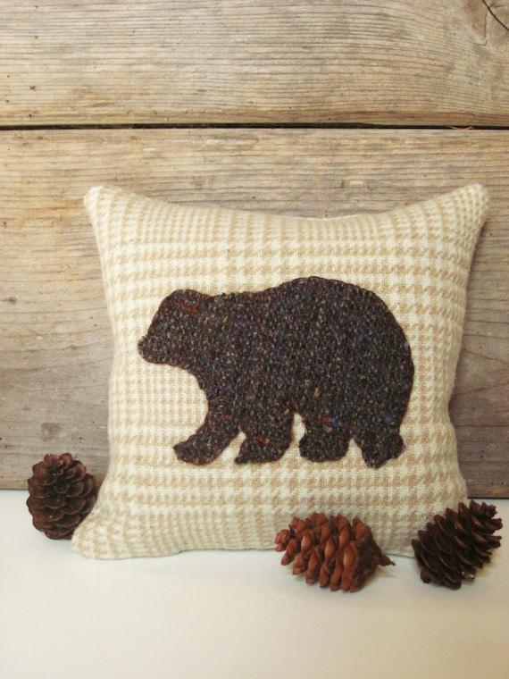 Circotm Decorative Pillow Mini Bear : Decorative Balsam Pillow Brown Bear Pillow Bear by AwayUpNorth