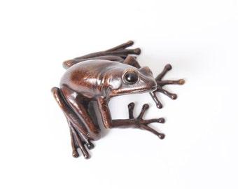 Tree frog - Bronze (small)