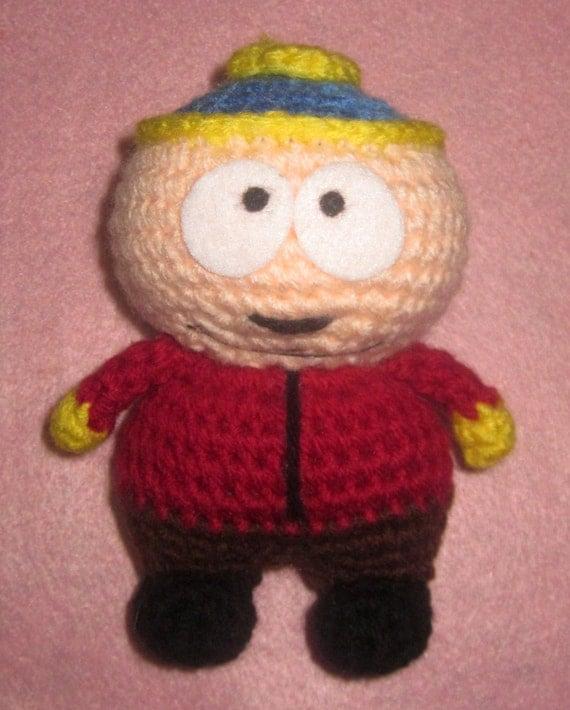 Amigurumi Cartman : Adorable crochet Amigurumi South Park Eric Cartman
