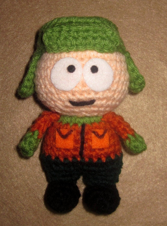 Amigurumi Cartman : Adorable crochet Amigurumi South Park Kyle Broflovski