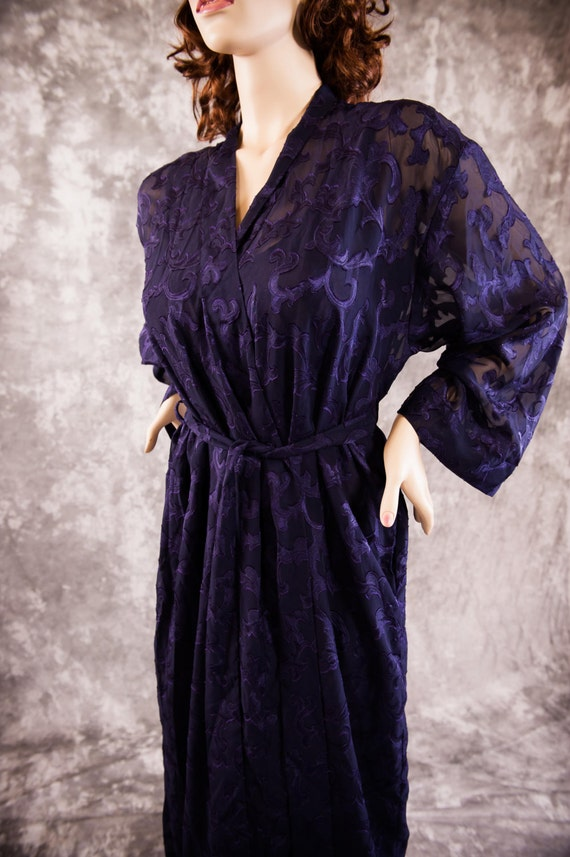 Vintage Victoria S Secret Nightgown And Robe Set Gold