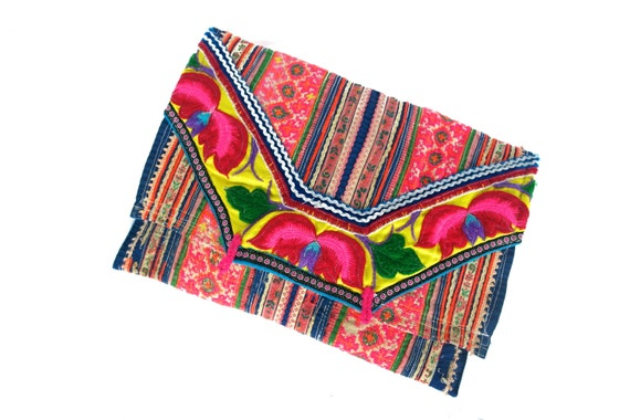 CUSTOM ORDER - not for purchase - hmong clutch / purse
