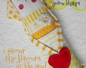 """Fabric Doll- Third Chakra Doll- Yellow Chakra doll- Solar Plexus chakra doll- Size 4 x 13"""""""