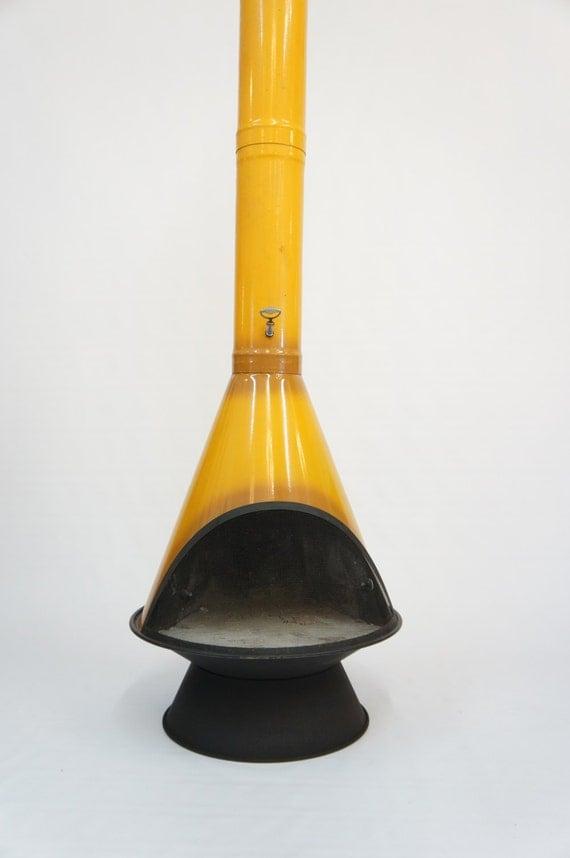 Greyhound Shipping Quote >> Mid Century Fireplace Mod vintage retro preway golden yellow
