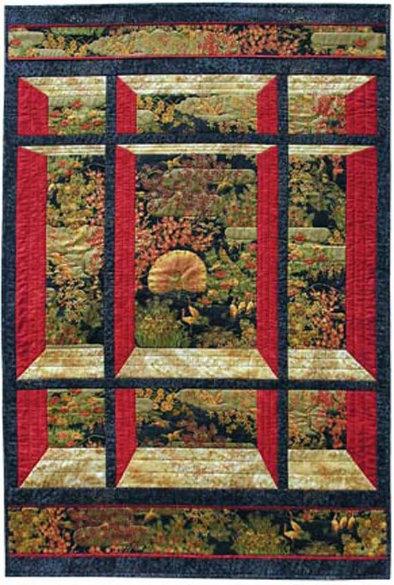 Window On The East Quilt Pattern Quilt Woman By