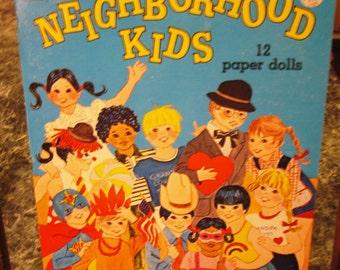 1980 Whitman Uncut Paper Doll Book