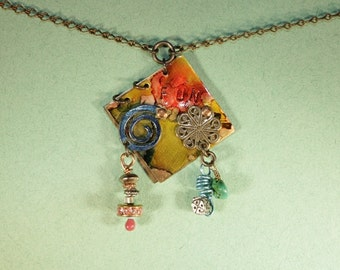 Turquoise, Fun Play Necklace Book