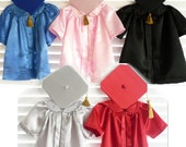 Infant Graduation Cap and Gown/ Robe Outfits for Baby and Toddler (Newborn - 5T)