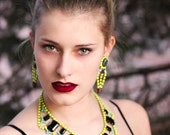S U N S H I N E Neon Yellow Earrings