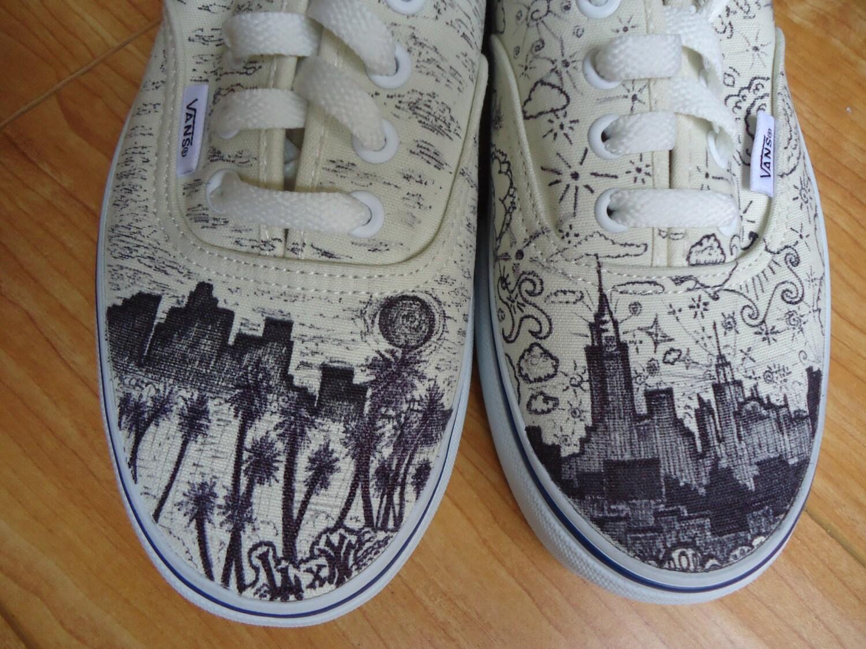 los angeles x new york vicit vans shoes