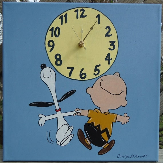 Snoopy and charlie brown dancing