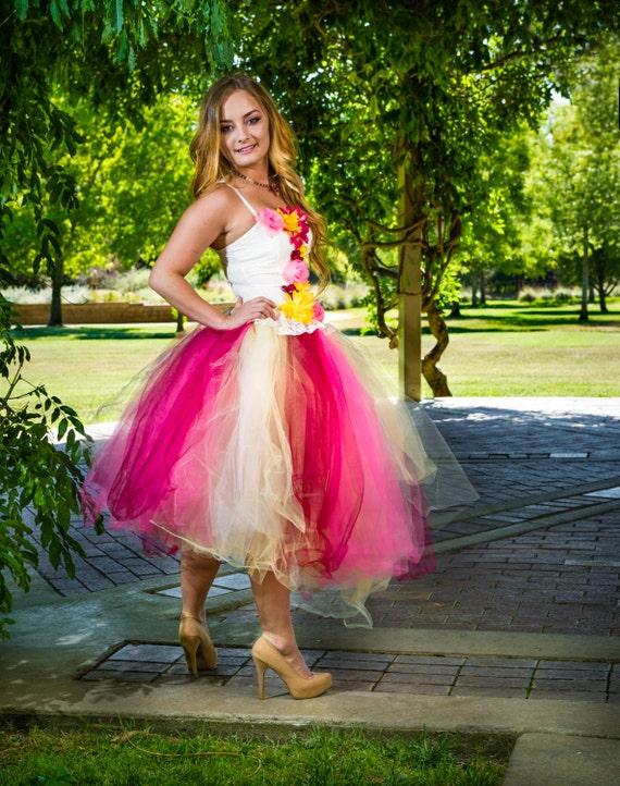 Adult tutu dress adult tutu prom dress teen tutu dress- photo #50