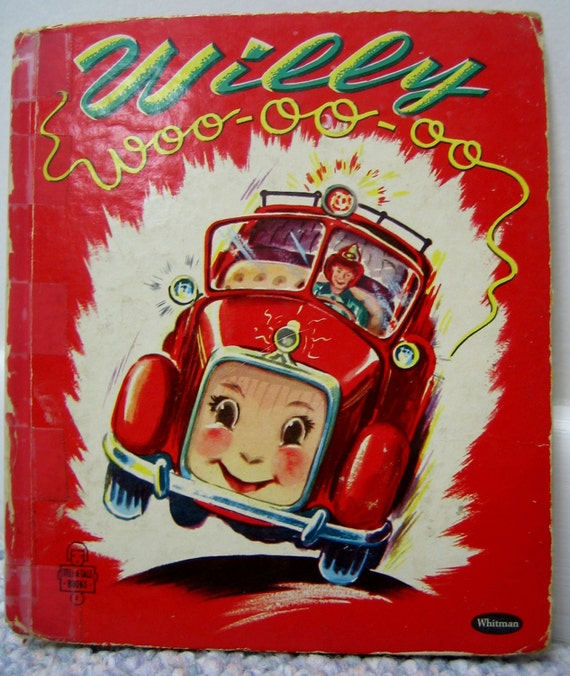 Willy Woo-oo-oo Whitman Tell a Tale Book 1951
