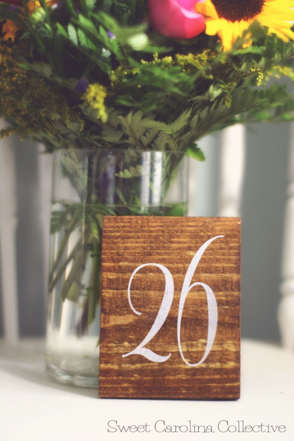 Wedding Table Numbers Table Number Wedding By