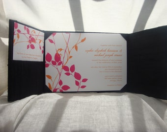 Silk Dupioni Gatefold with Box