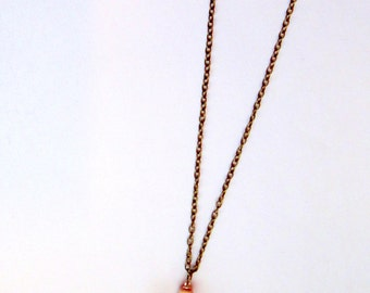 Howlite Cross Long Layering Necklace