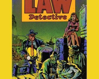 Will EISNER'S 'John Law, Detective' No. 1