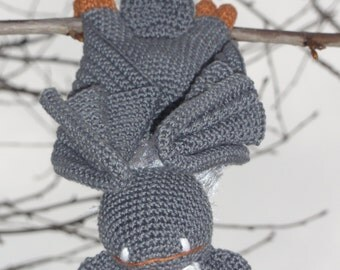 Amigurumi Crochet Pattern - Ultra Viola the Bat