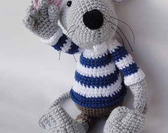 Amigurumi Crochet Pattern - Rumini the Mouse