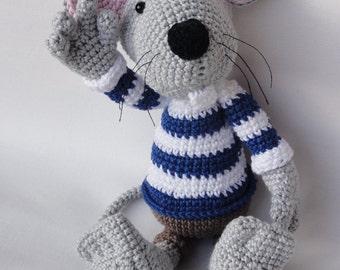 Amigurumi Crochet Pattern - Rumini the Mouse