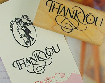 Blessing Stamp -- Rubber Stamps -- Diary Stamps -- Thank you 4