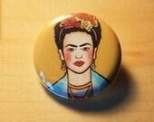 Frida //  1.25 inch button
