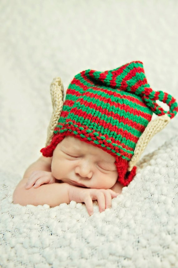 Elf ears christmas hat baby christmas hat toddler child on etsy