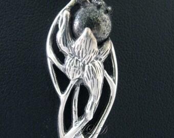 Hope, pyrite, pendant