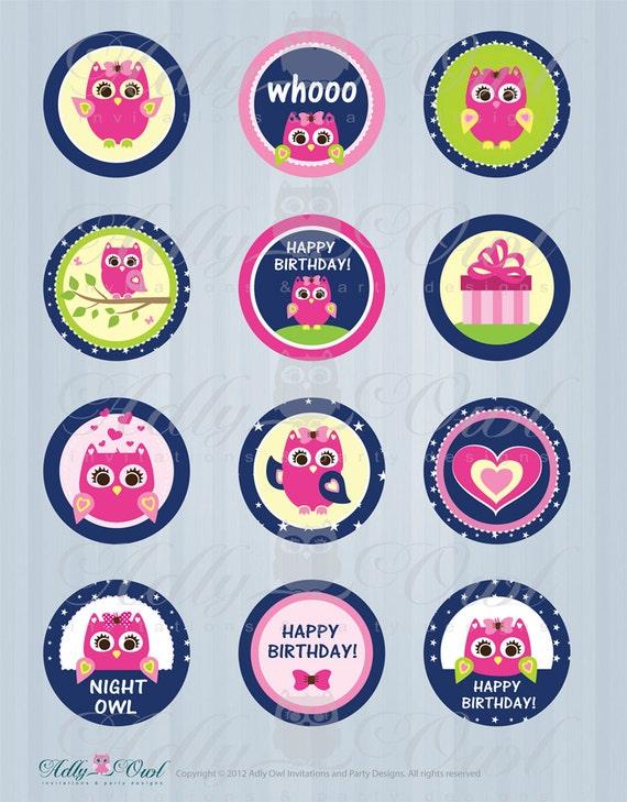 Items similar to Slumber Owl Girl Night Owl Sleepover ...