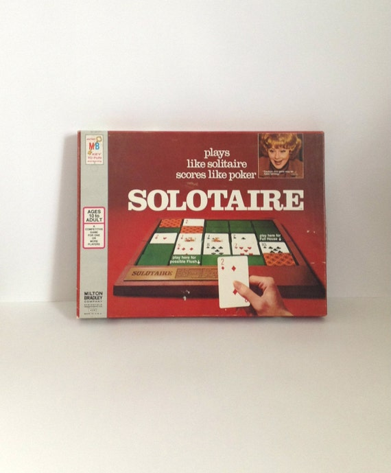 Vintage Solitaire Game by
