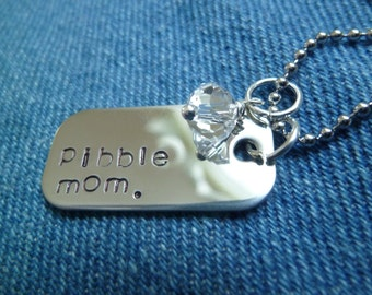 Pibble Mom Necklace
