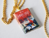 The Old Man and the Sea mini book necklace
