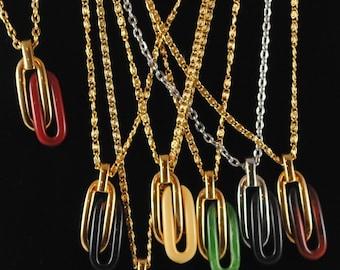 Necklace Vintage Mod Pendant 1960s