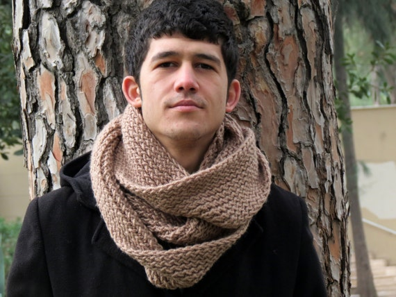 Simple Knitting Pattern For Infinity Scarf