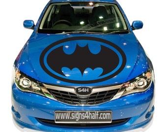 Batman Car Hood Window Bumper Sticker Premium 4 Season All Weather Decal Sticker Vinyl Sport Auto Truck