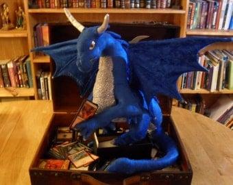 PDF PATTERN Dragon plush magic the gathering shoulder dragon