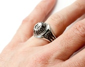 Jedi Academy Class of 1977 Ring in .925 Silver by Bakutis