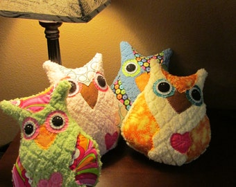 Snuggle Owl  **Will be made to order**
