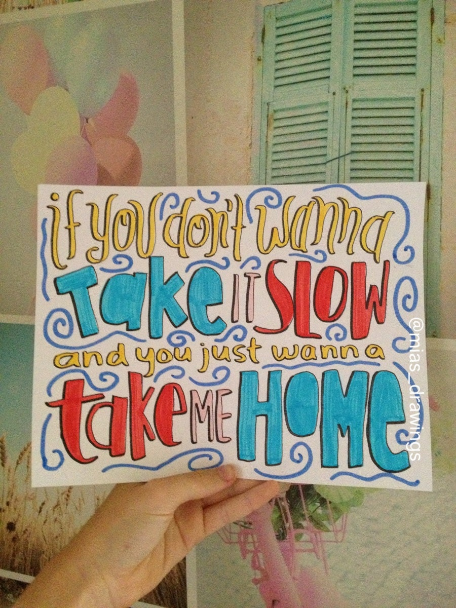 one direction lyrics drawings - photo #21